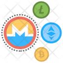 Altcoins Alternative Currencies Icon