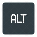 Alt Button Keyboard Icon