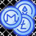 Altcoin Crypto Coin Icon