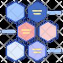 Alternating Hexagons Icon