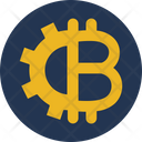 Alternative Currency Bitcoin Cryptocurrency Icon