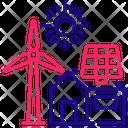 Alternative Energy Icon