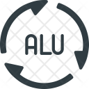 Alu Recycle Icon