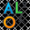 Aluminium oxide Icon