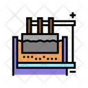 Electrolysis Chemical Process Processing Icon