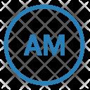 Am Mode Radio Icon