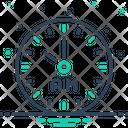Am Morning Clock Icon
