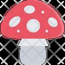 Amanita Mushroom Food Icon