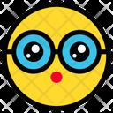 Surprised Emoticon Expression Icon