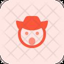 Amazed Cowboy Icon