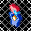 Hand Heart Love Icon