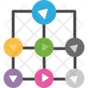Ambiguity Connection Network Icon
