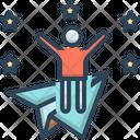Ambitious Joyful Wishful Icon