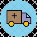 Ambulance Medical Transport Icon