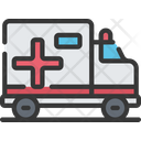 Ambulance Vehicle Health Care Icon