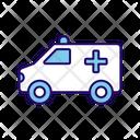 Ambulance Medical Vehicle Emergency Icon