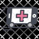 Ambulance Emergency Vehical Icon