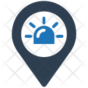 Ambulance Place Location Icon