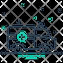 Ambulance Emergencies Exigency Icon