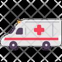 Transport Vehicle Ambulance Icon