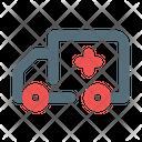 Ambulance Truck Transport Icon