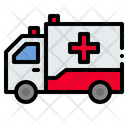 Healthcare And Medical Transportation Automobile Icon
