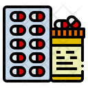 Healthcare And Medical Pills Drug Icon
