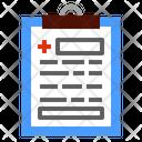 Healthcare And Medical Dental Care Prescription Icon