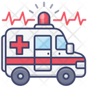 Emergency Hospital Vehicle Icon