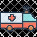Paramedic Ambulance Emergency Icon