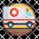 Emergency Service Ambulance Hospital Ambulance Icon