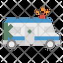 Ambulance Car Van Icon
