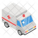 Ambulance Hospital Cargo Emergency Vehicle Icon