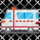 Automobile Ambulance Transport Icon