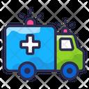 Emergency Van Hospital Van Medical Emergency Icon
