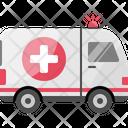 Emergency Ambulance Rescue Icon