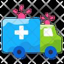 Energency Health Care Hospital Van Icon