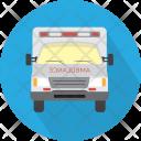 Ambulance Vehicle Transport Icon