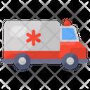 Ambulance Emergency Van Clinical Van Icon