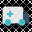 Car Ambulance Transportation Icon