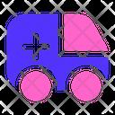 Ambulance Vehicle Medical Icon