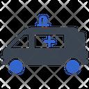 Ambulance Emergency First Aid Icon