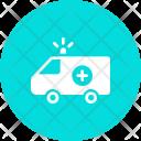 Ambulance Van Siren Icon