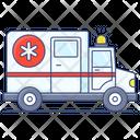 Medical Van Ambulance Medical Vehicle Icon