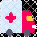 Ambulance Car Transportation Icon