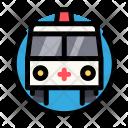 Medical Cross Ambulance Icon