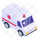Hospital Van Emergency Van Ambulance Icon