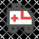 Ambulance Health Care Icon