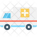 Ambulance Medical Transport Icon