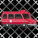 Ambulance Hospital Transport Emergency Transport Icon